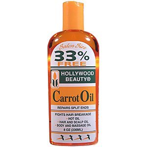 (Hollywood Beauty Carrot Oil 8 oz.)