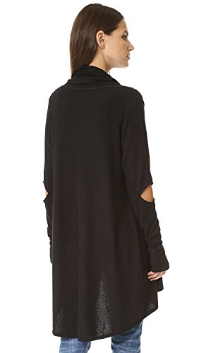BABY-QQ New design Women's Open Elbow Cardigan BlackSmall by BABY-QQ Jumpsuits-apparel
