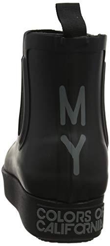 Of Bottes Black black Rainboot Bkbk Noir Femme Colors Chelsie Pluie De California dxqnIvdwZB