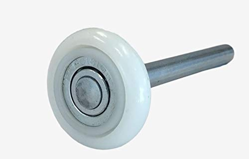 Bearings Inch Sealed (13 Ball Nylon Garage Door Rollers (4 Inch Stem) Sealed Bearing (10 Pack))