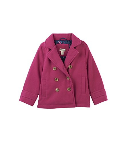 Quilted Peacoat - 4