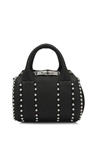 Alexander Wang Women's 2027S0002l001 Black Leather Handbag (Alexander Wang Handbags)