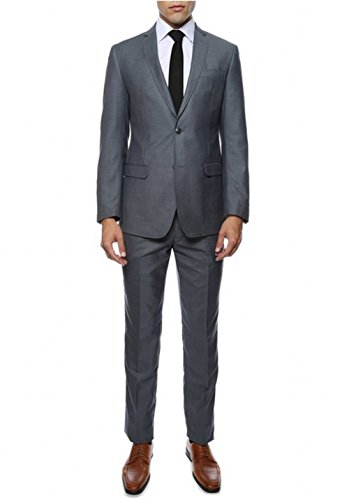 AK Beauty Men's Suit Two Buttons Groom Tuxedos Includes Jacket and Pants XXXXXL by AK Beauty