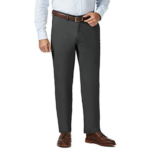 Haggar Mens Big and Tall Coastal Comfort Classic Fit Superflex Flat Front Pant