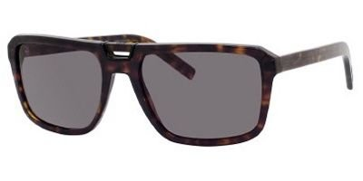 Dior Homme 086 Havana Black Tie 145S Aviator Sunglasses - Christian Sunglasses Dior Homme