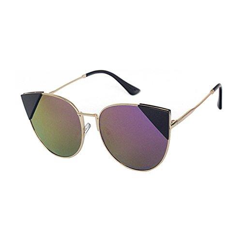 Aoligei Europe et les États-Unis réflectorisé Dame Chao Mans centaines gros Code lunettes rues shoot mode lunettes m Un F