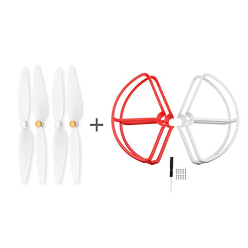 Kybers Drones Gifts for Boys or Girls - 4 Propeller Protective Cover Protector Bumpers and Propellers for Xiaomi 4K