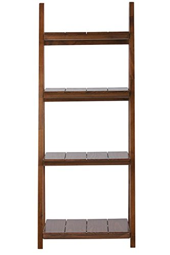 Nolan 4 shelf Folding Bookcase, 60''Hx24''Wx16''D, WARM BROWN by Home Decorators Collection