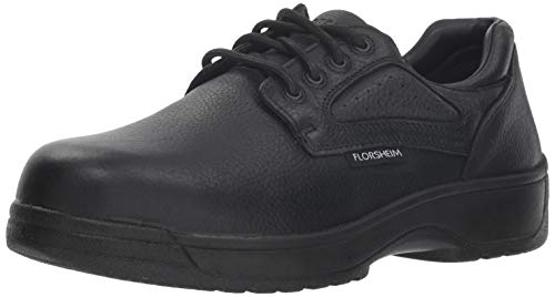 Florsheim Work Men's FS2416 Work Shoe,Black,9 D US