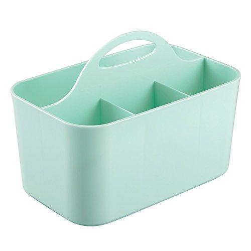 InterDesign Clarity Bath Caddy, Mint