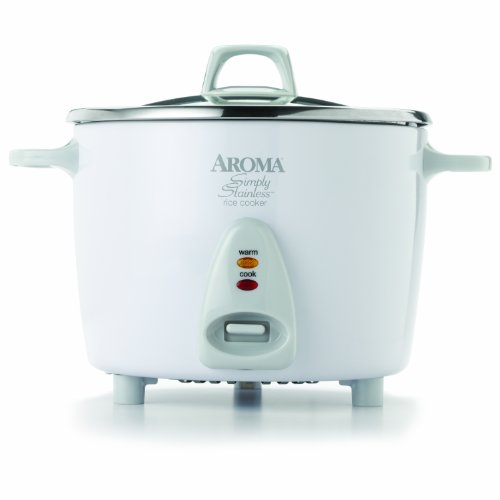 Aroma Housewares Simply Stainless 14-Cup Cooked 7-Cup Uncooked Rice Deal (Large Image)