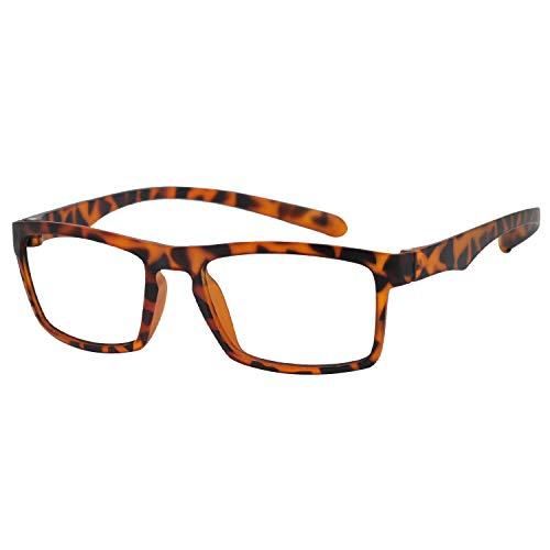 OCCI CHIARI Reading Glasses Readers Women Men Prescription Eyeglasses Computer Eyewear (A-Demi, 2.25) (Female Eyeglasses)