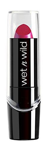 Wet n Wild Silk Finish Lipstick, Fuchsia with Blue Pearl [527b] 0.13 oz