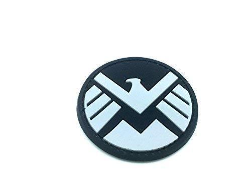 Ironman New Team Shield Agent Nero Patch PVC Toppa S.H.I.E.L.D