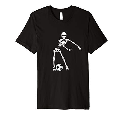 Flossing Skeleton Soccer Shirt Floss Dance Premium T-Shirt