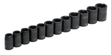 Craftsman Easy-to-Read Dual-Mark Impact Socket Sets 915885 Metric 1/2