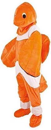 Disfraz peluche pez payaso adulto – Calidad coolminiprix®: Amazon ...