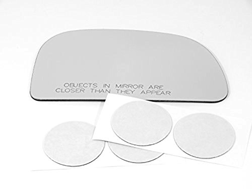 93-02 Mitsu Mirage Right Passenger Convex Mirror Glass Lens w/ Adhesive USA