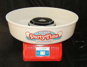 Party Time Professional Style Cotton Candy Maker