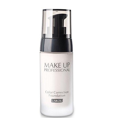 BB Cream Foundation Blank Make up Concealer Light/Medium Skintones für Gesicht Feuchtigkeitscreme Cover Up Haut Fehler Isolation Staub UV(01#)