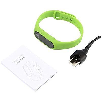 KEKJORY Smart Bracelet Wristband Heart Rate Pedometer Sleep Fitness Tracker green Estimated Price £4.66 -