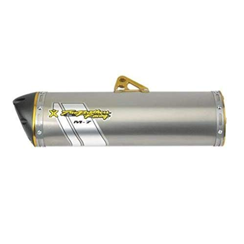 Two Brothers Racing(005-3130406V) Stainless Steel M-7 Aluminum Canister Slip-On Exhaust - Can Outlander Am Exhaust 1000