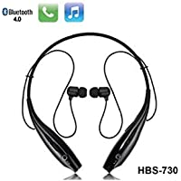 SYSTEM BREAKER™ HBS/KBP-730 Neckband Bluetooth Wireless Sport Stereo Extra Bass Headsets Handsfree with Microphone, Bluetooth Attractive Headphone Noise Isolation, Integrated Neckband, Thunder Beats Stereo Sound and Hands-free Mic and Controlling Buttons with Magnetic Earbuds Bluetooth Headphones Earphones Wireless Sport Stereo Extra Bass Headsets Handsfree with Microphone for Android, Apple Devices, Xiaomi Mi, iPhone, Phillips, JBL, Vivo, Bose, Boat Rockerz, One Plus, Motorola, Mivi, samsung,