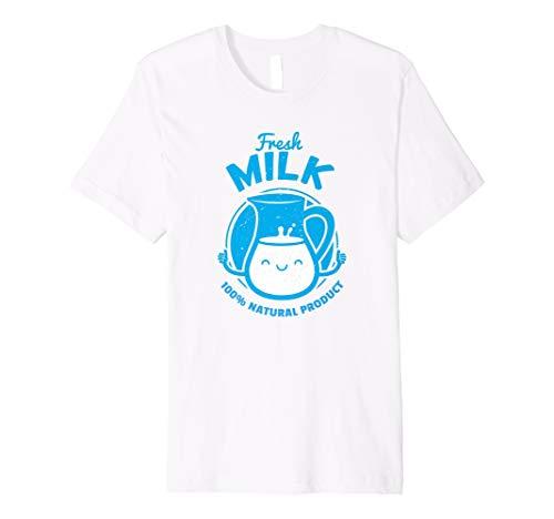 Carton Of Milk Jug Match Cookie Halloween Costume T-Shirt ()
