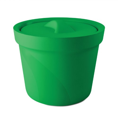 Bel-Art Magic Touch 2 High Performance Green Ice Bucket; 4.0 Liter, With Lid (M16807-4004) by SP Scienceware
