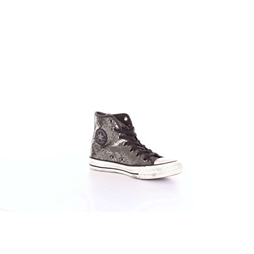 Sneakers Ctas Femme buff Converse Multicolore 020 Basses Chuck Hi Distressed black thunder Taylor EqwwPHRX