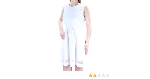 052ae73279 Maison Jules Womens Crepe Eyelet Sundress at Amazon Women s Clothing store