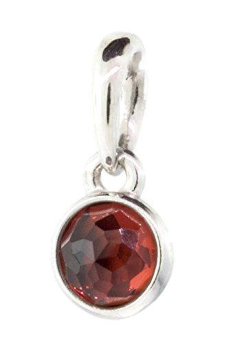 PANDORA January Droplet Pendant, Garnet 390396GR