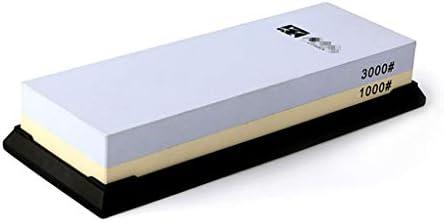 SGMYMX砥石 砥石、3000/1000両面石組成物の複合機は、 - ラバーホルダを備えます ウェット砥石