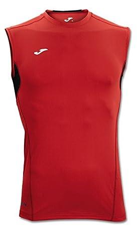 Joma - Camiseta Skin Rojo-Negro s/m para Hombre