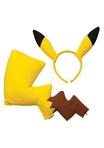 Rubies Pokémon Pikachu Ears and Tail Dress Up Kit (Discontinued by (Tails Dress Up)