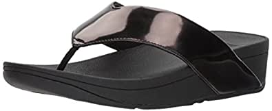 FitFlop Womens I47 SwoopTM Toe-Thong Sandals Black Size: 5