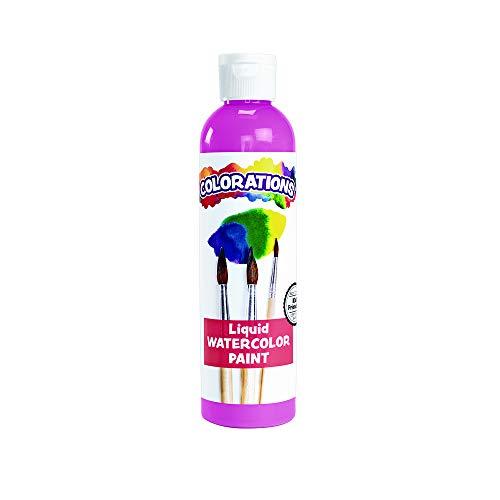 Colorations LWPI Liquid Watercolor Paint, Pink - 8 oz. ()