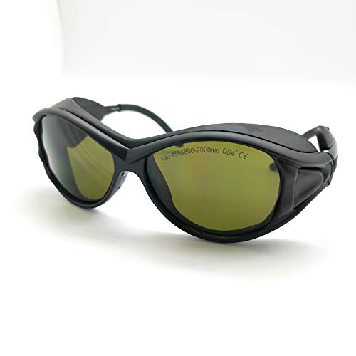 OD4+ 190-450nm & 800-2000nm Laser Protective Goggles Glasses CE Eaglepair EP-5-2