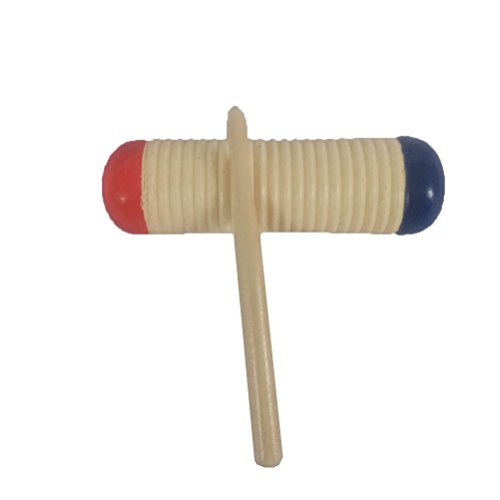 (NUOBESTY Wood Guiro Shaker with Scraper for Classroom Percussion Music or Playing at Home)