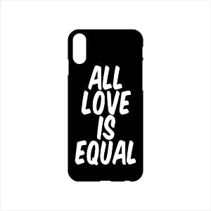 Fmstyles - iPhone X Mobile Case - All love is Equal