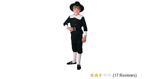 Brand New Colonial Pilgrim Boy Child Costume