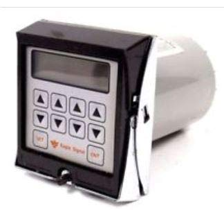 EAGLE SIGNAL CX312A6 Electronic Reset Timer/Counter, LCD Display, Panel MTG, Cycle-Flex, CX Series, Timer
