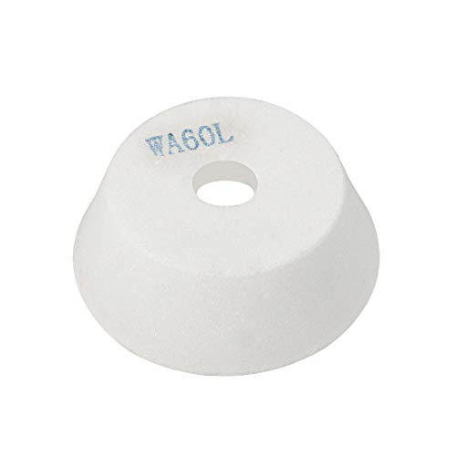 uxcell 4-Inch Flaring Cup Grinding Wheel 60 Grits White Aluminum Oxide Surface Grinding Ceramic ()