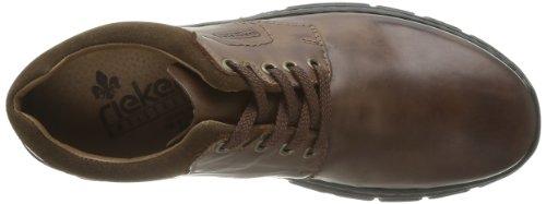 Rieker 19910 - Zapatos con cordones de cuero hombre marrón - Braun (marrone/kastanie 26)