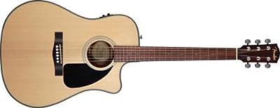 Fender CD-100 Dreadnought Acoustic Guitar, Left Handed, Natural by Fender Acoustic Guitars