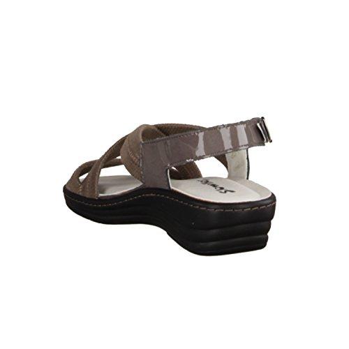 Pelle Da camoscio 103 Sciolto Sandali Comodi Scarpe Inserto In Donna Beige 419 Slowlies tvqOwTA
