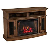 Merrick Cabinet Brown & 26 Infrared Firebox