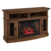 Merrick Cabinet Brown & 26 Infrared Firebox