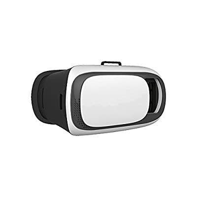 Plastic Version Focal and Pupil Distance Adjustment Google Cardboard 3D VR Box Virtual Reality Headset Video Movie Game Glasses for iPhone 6 6s 6 Plus 6s Plus Samsung Galaxy S5 S6 S7 Sony