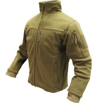 Adventure Extreme Weather Jacket - Condor ALPHA Micro Fleece Jacket - 601, Color Tan, Medium